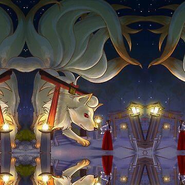 Shrine of Nine by KatArtDesigns