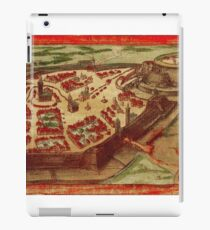 Gotha Vintage map.Geography Germany ,city view,building,political,Lithography,historical fashion,geo design,Cartography,Country,Science,history,urban iPad Case/Skin