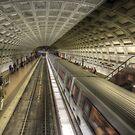 Smithsonian Metro Station by Shelley Neff