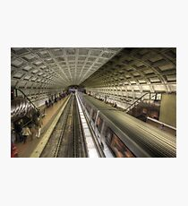 Smithsonian Metro Station Photographic Print