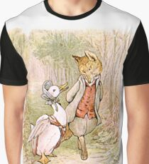 Jemima Puddleduck and the Fox Graphic T-Shirt