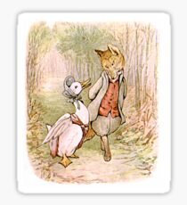Jemima Puddleduck and the Fox Sticker