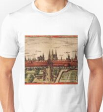Braunschweig Vintage map.Geography Germany ,city view,building,political,Lithography,historical fashion,geo design,Cartography,Country,Science,history,urban T-Shirt