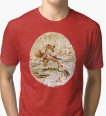 Mr. Jeremy Fisher by Beatrix Potter Tri-blend T-Shirt