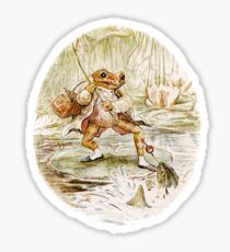 Mr. Jeremy Fisher by Beatrix Potter Sticker