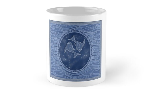 Pisces - Zodiac water sign by chartofthemomen