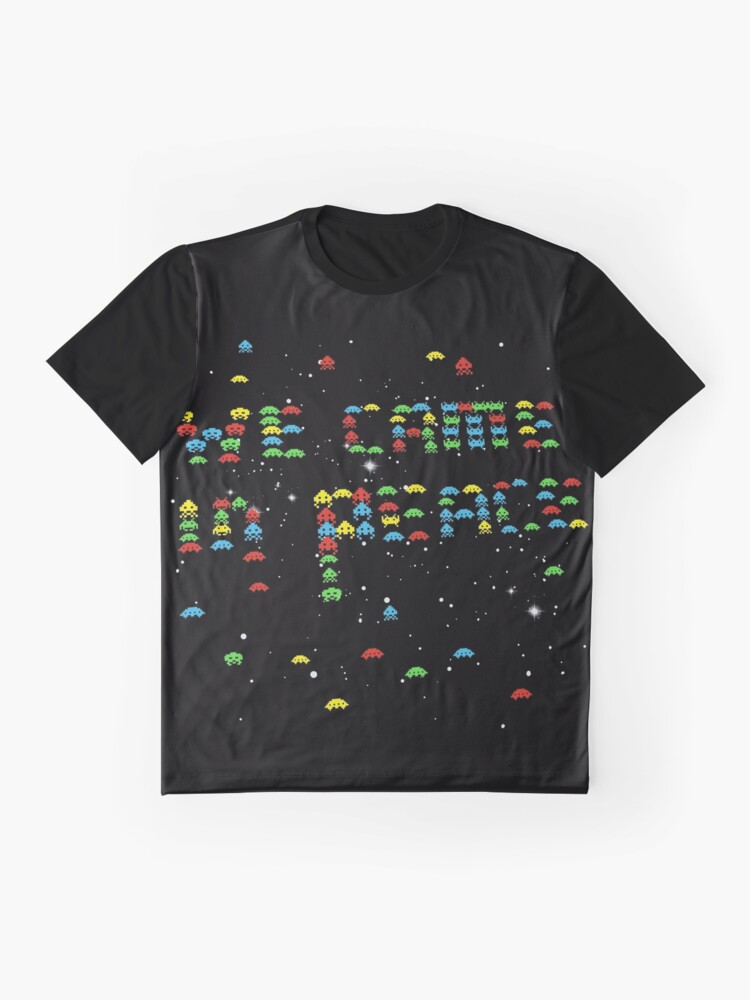 Alternate view of we came in peace Graphic T-Shirt