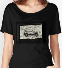 Vintage Classic Car Women's Relaxed Fit T-Shirt