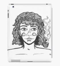 A Pipe Smoking Frey iPad Case/Skin