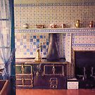 Claude Monets Kitchen in Giverny by John Rivera