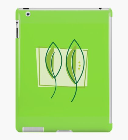 Green Leaves iPad Case/Skin