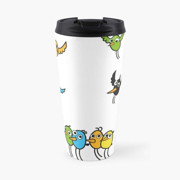 Fun Birds \ by Suzies Sparrow Travel Mug