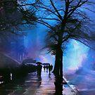 Shadows in the Rain by John Rivera