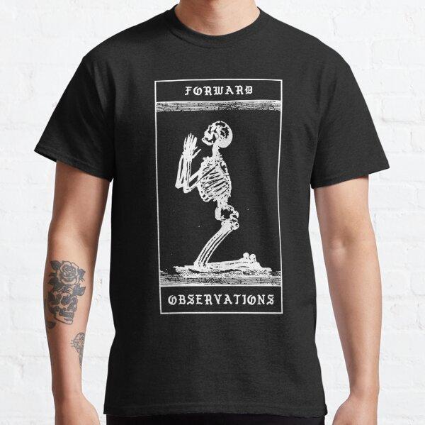 Orando Esqueleto Adelante Grupo de Observaciones Tshit GBRS CRYE SUPDEF Camiseta clásica