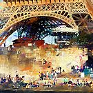 Colors of Paris in the Summer by John Rivera