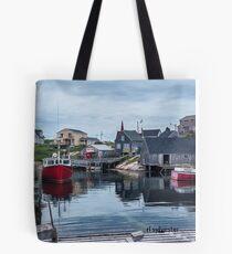Pegggies Cove Nova Scotia  Tote Bag