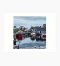 Pegggies Cove Nova Scotia  Art Print