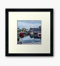 Pegggies Cove Nova Scotia  Framed Print