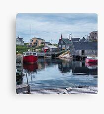 Pegggies Cove Nova Scotia  Canvas Print