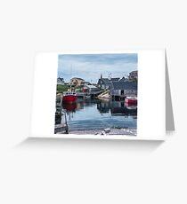 Pegggies Cove Nova Scotia  Greeting Card