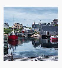 Pegggies Cove Nova Scotia  Photographic Print