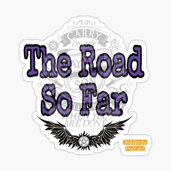 The Road So Far Graphic 1 Sticker