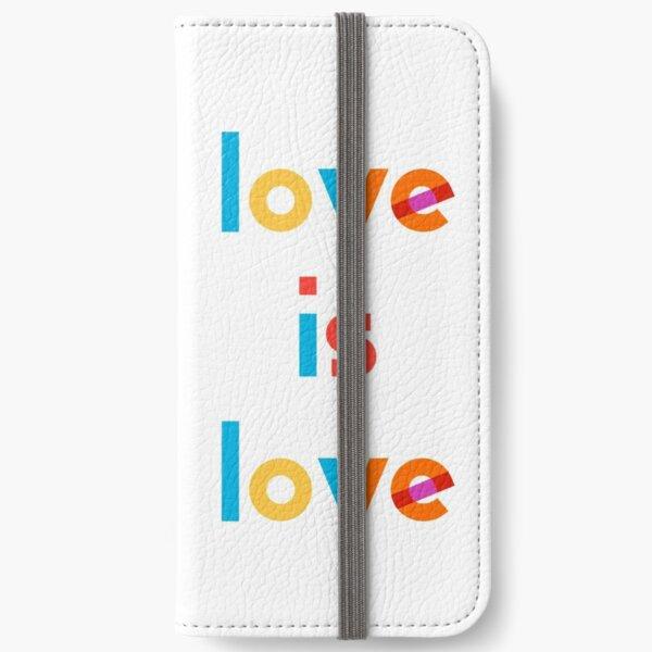 love is love iPhone Wallet