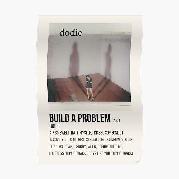 dodie build a problem album poster Poster