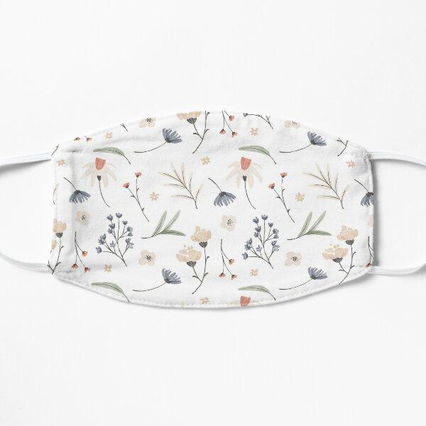 Aquarell Blumen Flache Maske