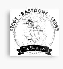 Liege - Bastogne - Liege Metal Print