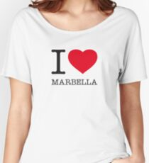 I ♥ MARBELLA Women's Relaxed Fit T-Shirt