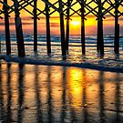 Sunrise on Folly Beach by KellyHeaton