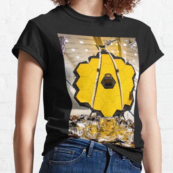 Building The James Webb Space Telescope on Earth Classic T-Shirt