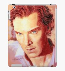 Benedict Cumberbatch Artwork Design 1 iPad Case/Skin