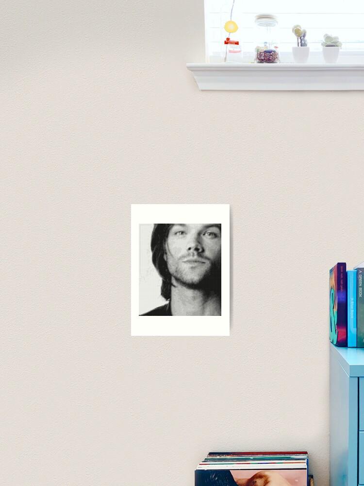 Jared Padalecki Galaxy Print