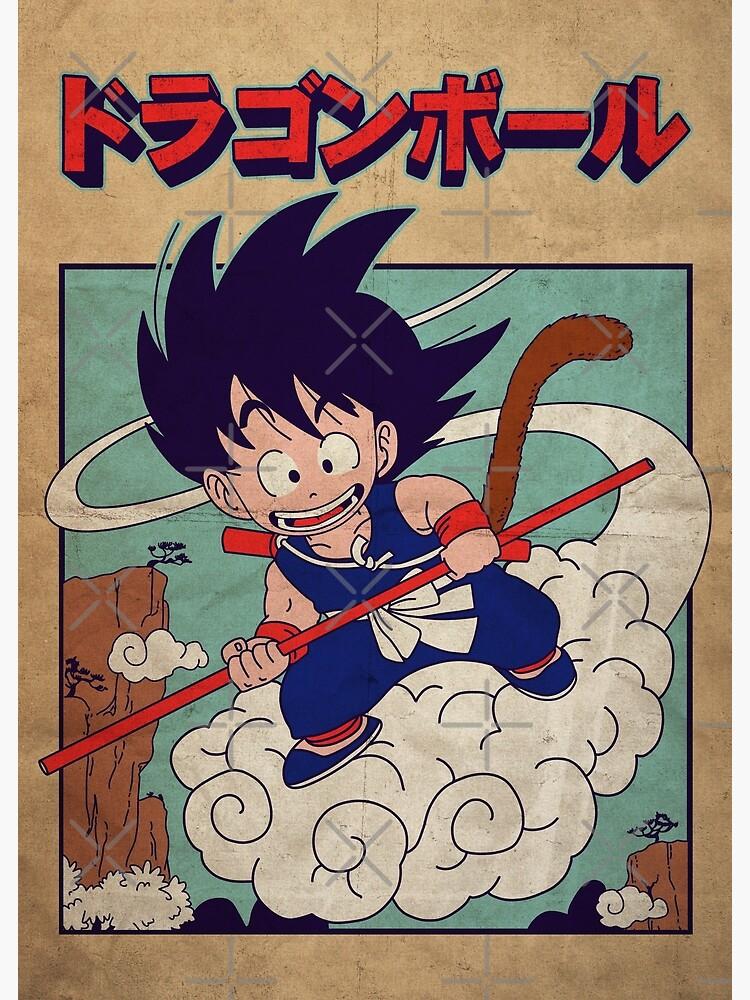 Vintage Goku Poster by Akolytus