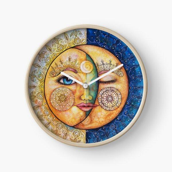 zon & maan- sun & moon Clock