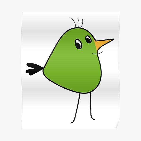 Birdiebird \ by Suzies Sparrow Poster