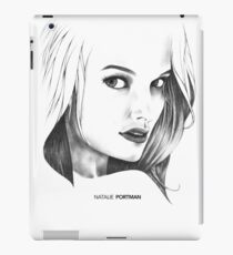 Natalie Portman Illustration iPad Case/Skin