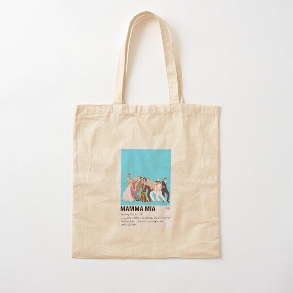 Mamma Mia Minimalist Poster Baumwolltasche