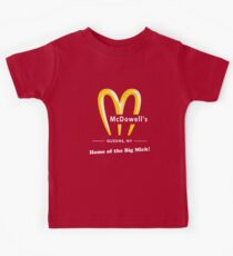 McDowells Restaurant Queens Big Mick T-Shirt Kids Clothes