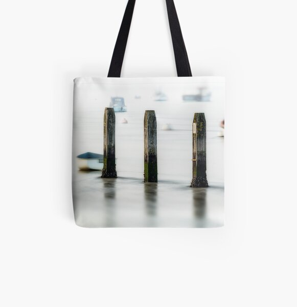 Three Posts All Over Print Tote Bag