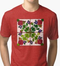 Portuguese Tiles Tri-blend T-Shirt