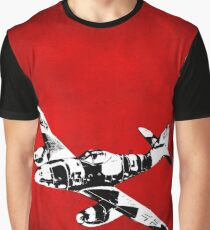Messerschmitt Me 262 Jet Fighter from WW2 Graphic T-Shirt
