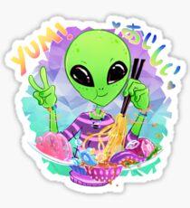 Yummy Alien Food! Sticker