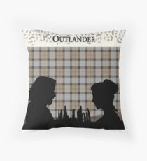 Outlander Tartan  Throw Pillow