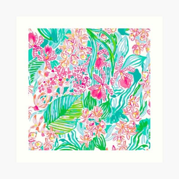 lilly pulitzer Art Print