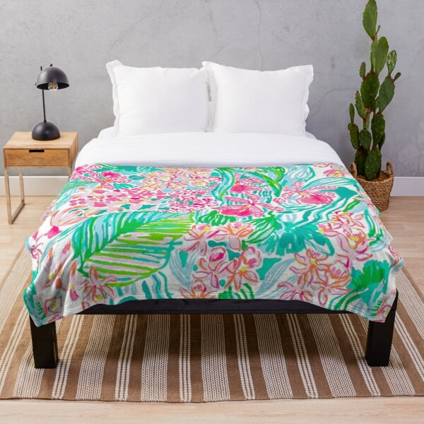 lilly pulitzer Throw Blanket