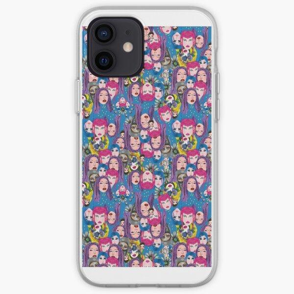 Girls Team Funda blanda para iPhone