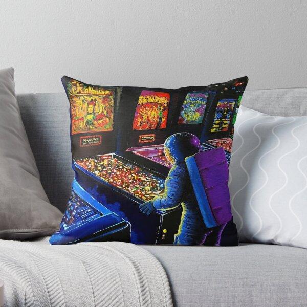 Pinball Wizard Throw Pillow